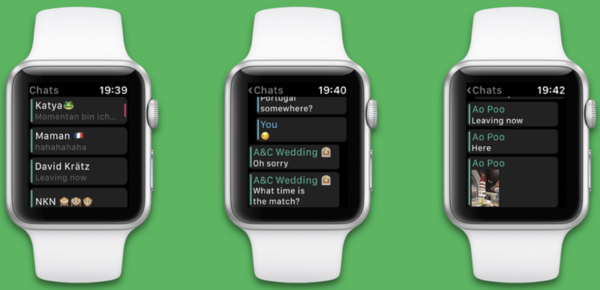 Скачать Whatsapp на Apple Watch